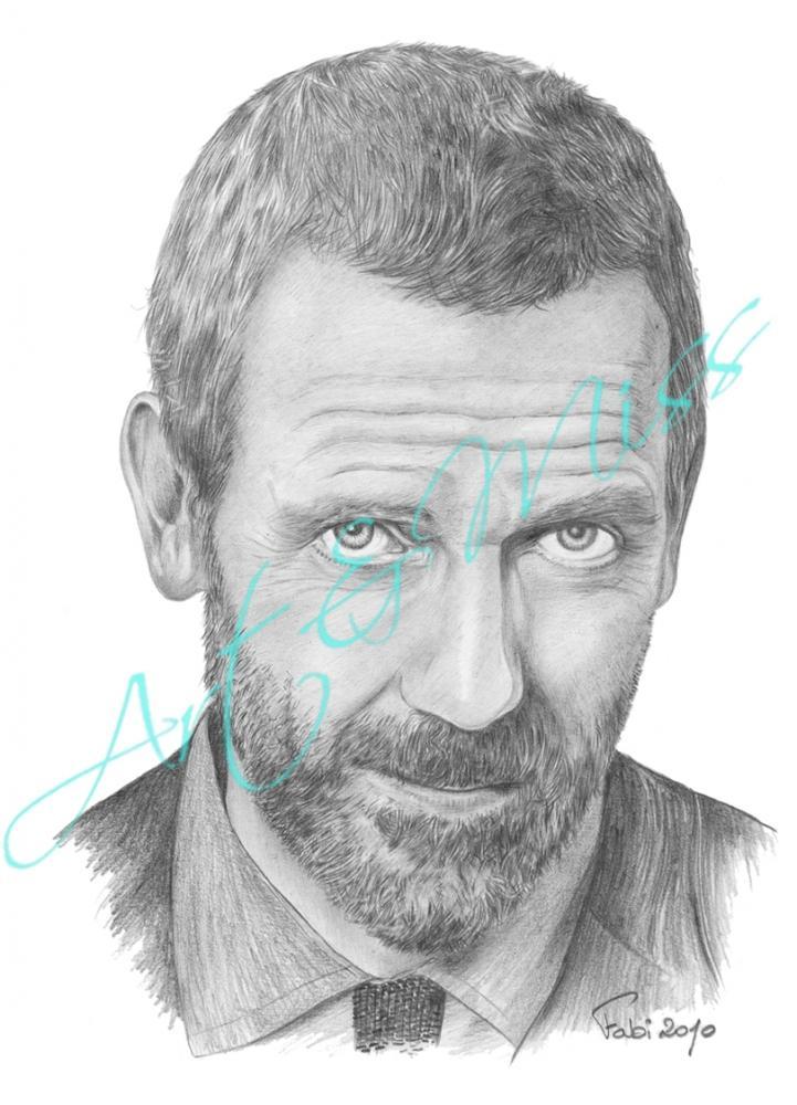 Hugh Laurie par Fajojelu